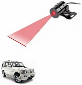 A2D Anti Collision Line Of Safety Rear Laser Car Fog Light RED-Mahindra Scorpio Type 2