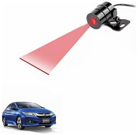 A2D Anti Collision Line Of Safety Rear Laser Car Fog Light RED-Honda City Type 5