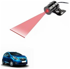 A2D Anti Collision Line Of Safety Rear Laser Car Fog Light RED-Chevrolet Beat Type 1