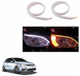 A2D Audi Style 60cm Flexi LED DRL With Turn Indicator Function Set Of 2-Volkswagen Polo