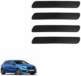 A2D Black Set Of 4 Car Bumper Guard Protector- Mercedes Benz A180