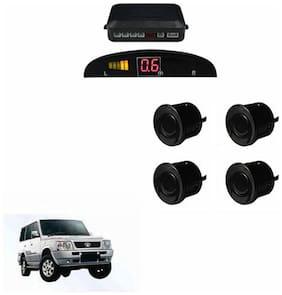 A2D Car Reverse Parking Sensor Black With LED Display- Tata Sumo Gold [2000-2010]
