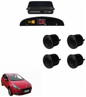A2D Car Reverse Parking Sensor Black With LED Display- Fiat Punto Evo