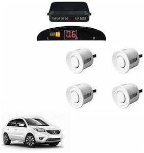 A2D Car Reverse Parking Sensor Silver With LED Display- Renault Koleos