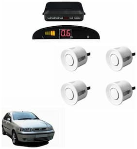 A2D Car Reverse Parking Sensor Silver With LED Display- Fiat Palio