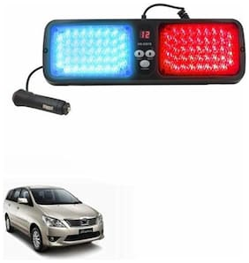 A2D Car Sun Visor 12 Modes Police Style Lights RED & BLUE-Toyota Innova