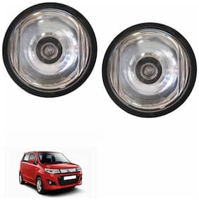 A2D Crystal Clear 10CAL Set Of 2 Car Aux Fog Lights-Maruti Suzuki Wagon R Stingray