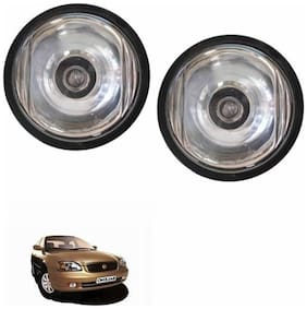 A2D Crystal Clear 10CAL Set Of 2 Car Aux Fog Lights-Maruti Suzuki Baleno