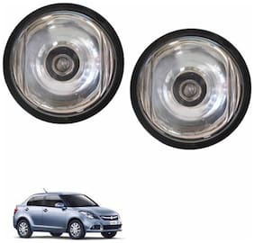 A2D Crystal Clear 10CAL Set Of 2 Car Aux Fog Lights-Maruti Suzuki Swift Dzire Type 3