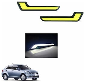 A2D L-MRC White LED Lights Fog Light Car DRL Day Time Running Lights-Maruti Suzuki Swift DZire
