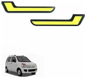 A2D L-MRC White LED Lights Fog Light Car DRL Day Time Running Lights-Maruti Suzuki Wagon R