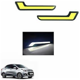 A2D L-MRC White LED Lights Fog Light Car DRL Day Time Running Lights-Hyundai Xcent