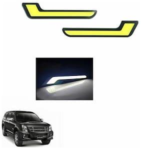 A2D L-MRC White LED Lights Fog Light Car DRL Day Time Running Lights-Isuzu MU7