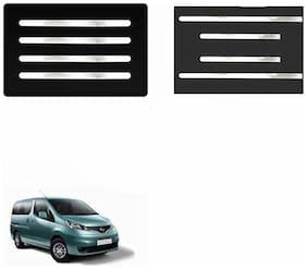 A2D Mirror Chrome Bumper Protector + Side Beadings Set Of 4-Nissan Evalia Type 1
