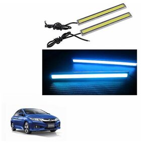A2D Neon Deep Blue LED Lights Fog Light Car DRL Day Time Running Lights-Honda City
