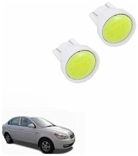 A2D PL3 Cobe Super LED Car Headlight White Parking Lights Set Of 2-Hyundai Verna