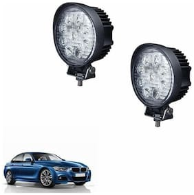 A2D Round Car Auxiliary 9LED Fog Lights Set Of 2-BMW 320D