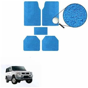 A2D SET OF 5 Anti-Skid Exotic Car Floor/Foot Mats Blue-Tata Sumo Victa