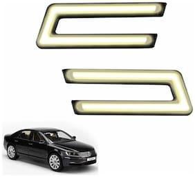 A2D Type-U White LED Fog Light Car DRL Day Time Running Lights-Volkswagen Phaeton