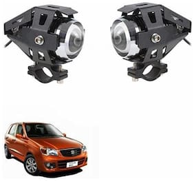 A2D U5 Car Auxiliary CREE LED White Fog Lights Set Of 2-Maruti Suzuki Alto K10