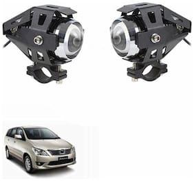 A2D U5 Car Auxiliary CREE LED White Fog Lights Set Of 2-Toyota Innova