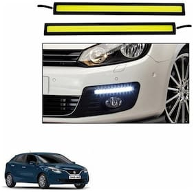 A2D White LED Lights Fog Light Car DRL Day Time Running Lights-Maruti Suzuki Baleno New