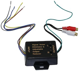 2CH Hi 2 Low Level Converter High Level Speaker Output To RCA Line AD-105C