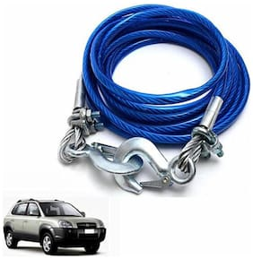 A2D 5 Ton Steel Towing Cable With Tow Hooks-Hyundai Tucson