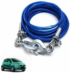 A2D 5 Ton Steel Towing Cable With Tow Hooks-Maruti Suzuki Ritz
