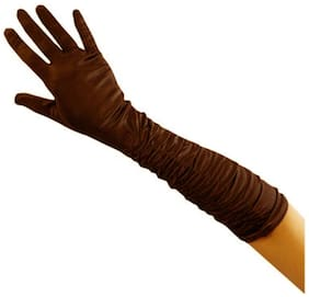 Aadikart Full Hand Gloves for Women - Set of 1