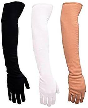 Aadikart Unisex Hand gloves -Set of 3 Protact for winter