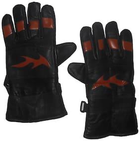 Aadishwar Creation Hand Gloves Protect For Winter (Black)