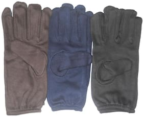 Aadishwar Creation Half Hand Gloves-3 pair