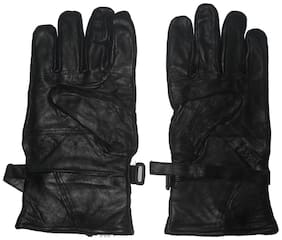 Aadishwar Creation Hand Gloves Protect For Winter (Black)