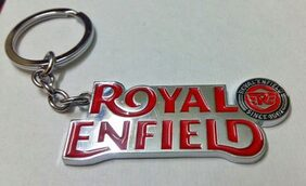 Aai Imported Metal Royal Enfield Design Keyring Car, Bike Keychain Electra Classic