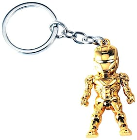 Aai  Iron Man 3D Model Keyring Marvel Alloy Key Chain - Assorted