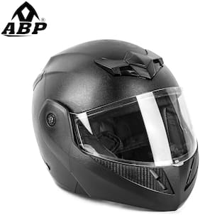 Abp Cruze Full Face Flip Up Helmet Black (Matte)