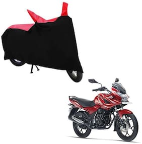 ABS AUTO TREND Bike Body Cover For Bajaj Discover 150S ( Black, Red )