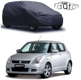 ABS AUTO TREND  Grey Matty Car Cover for  Maruti Suzuki Swift Old with Triple Stitched and Elastic Hem Around The Bottom
