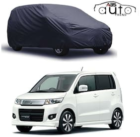 ABS AUTO TREND Matty Grey Car Cover Mariuti Suzuki New Wagon R