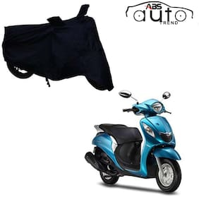 ABS AUTO TREND Bike Body Cover For  Yamaha Fascino ( Black )