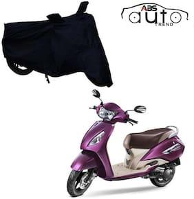 ABS AUTO TREND Bike Body Cover For  TVS Jupiter ( Black )