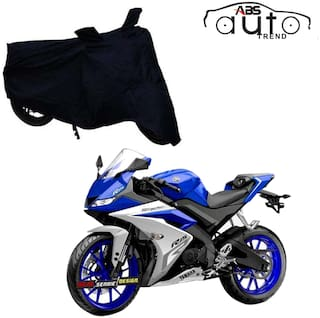 Bike Body Cover For  Yamaha Yzf R15 V3.0 ( FREE Anti-Pollution Face Mask )