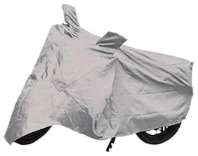 ABS AUTO TREND Two Wheeler Body Cover For Royal Enfield Thunderbird 500 ( Silver )