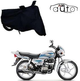 ABS AUTO TREND Bike Body Cover For  Hero Splendor Plus ( Black )