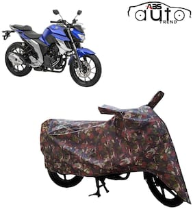 ABS AUTO TREND Jungle Bike Body Cover for Yamaha Fz 25 ( Multi )