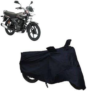 ABS AUTO TREND Two Wheeler Body Cover For Bajaj Platina Comfertech (Black)