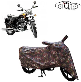 ABS AUTO TREND Jungle Bike Body Cover for Royal Enfield Bullet 350 ( Multi )