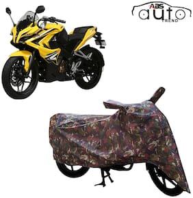 ABS AUTO TREND Jungle Bike Body Cover for Bajaj Pulsar Ss400 ( Multi )