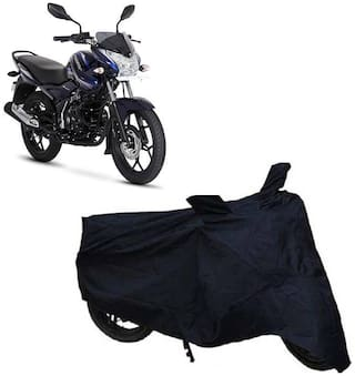 ABS AUTO TREND Two Wheeler Body Cover For Bajaj Discover 150S (Black)